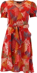 Rant and Rave  Bel Wrap Dress Red