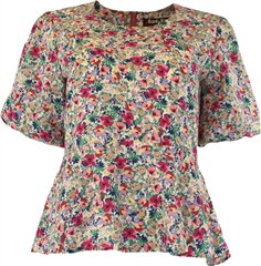 Rant and Rave  Asha Top Pink Floral