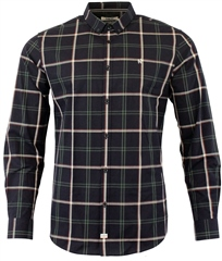 Kenrow Dan Shirt Navy Check