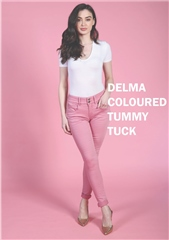 Rant and Rave  Delma Tummy Tuck Jean Pink