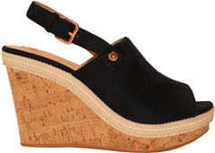 Rant and Rave  Sasha Mule Wedge Navy