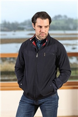Outrage Terry Jacket Navy