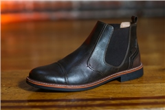 Outrage Daly Boot Dark Brown