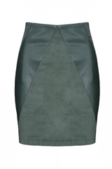 Rant and Rave  Dena Skirt Green