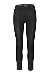 Rant and Rave  Nessa Faux Leather Elle Fit Jean Black
