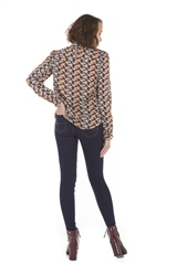 Rant and Rave  Kaela Top Geometric