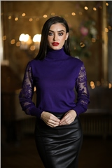 Rant and Rave  Cora Jumper Purple