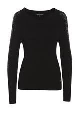 Rant and Rave  Eileen Jumper Black