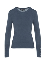 Rant and Rave  Polly Jumper Blue