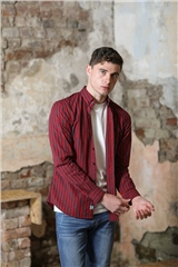 Kingpin Boden Shirt Red Check
