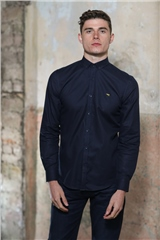 Kingpin Faulkner Shirt Navy