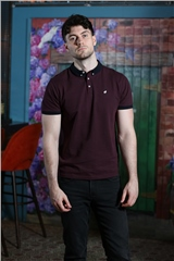 Outrage Alister Polo Burgundy