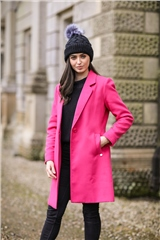 Rant and Rave  Dana Coat Pink
