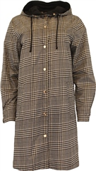 Relax & Renew Debbie Raincoat Black Check