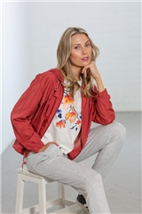 Relax & Renew Lola Jacket Rose Smoke