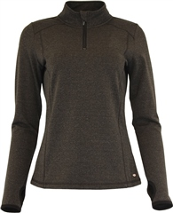 Relax & Renew Fonda Half Zip Black