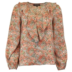 Rant and Rave  Gayle Top Terracotta Floral