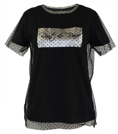 Rant and Rave  Val Tee Black