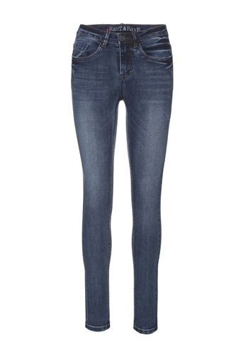 Rant and Rave  Mid Wash Enzo Skinny Jean Denim  - Click to view a larger image