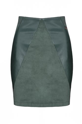 Rant and Rave  Dena Skirt Green