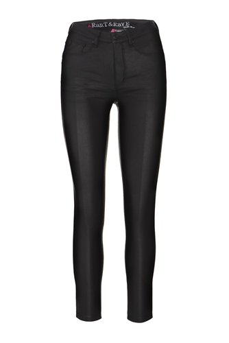 Rant and Rave  Nessa Leather Jean Black