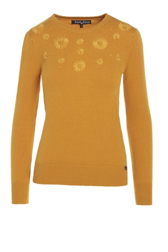 Rant and Rave  Fiona Jumper Mustard