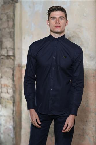 Kingpin Faulkner Shirt Navy