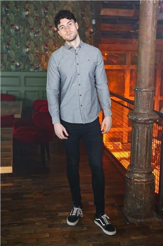 Kingpin John Shirt Grey